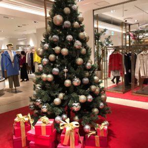 百貨店のクリスマス