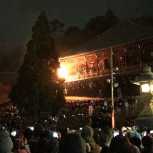 東大寺二月堂のお水取り参拝